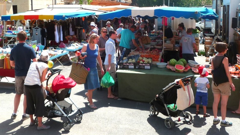 Les marchés des Monts du Lyonnais